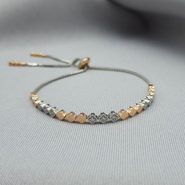 Браслет золотой с бриллиантами 3_Б 21.14