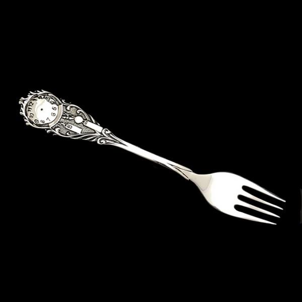 Вилка серебряная 2_Часики