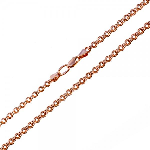 Золотой браслет плетение ручеек 1БР061