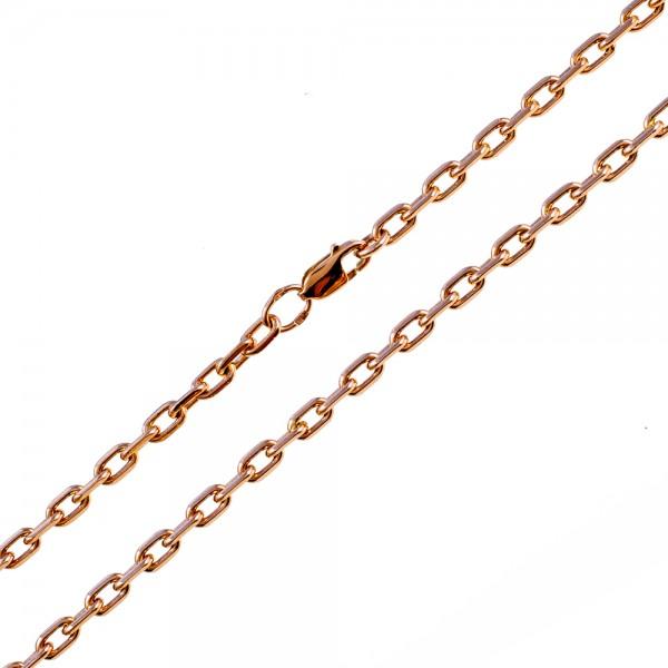 Золотой браслет плетение якорь 1БЯ021
