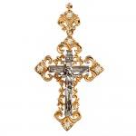 Золотой крестик 3Х007д