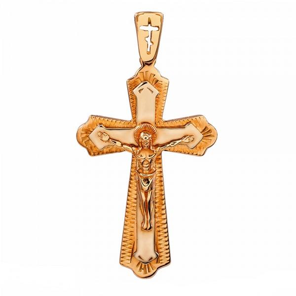 Золотой крестик 1Х021