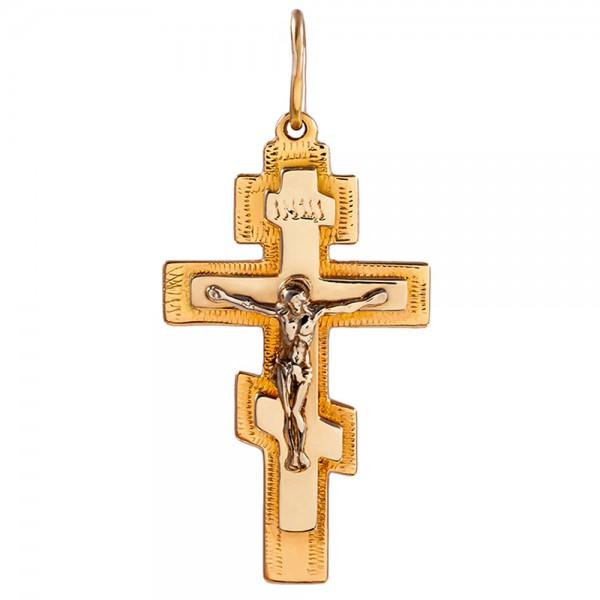 Золотой крестик 1Х024