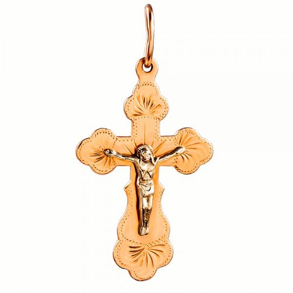 Золотой крестик 1Х026