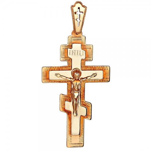 Золотой крестик 1Х083