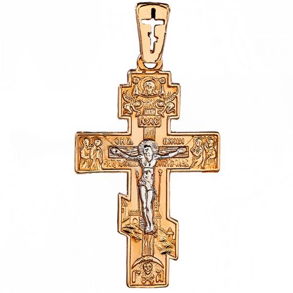 Золотой крестик 1Х145