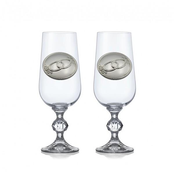Бокалы для шампанского 4Claudia B257