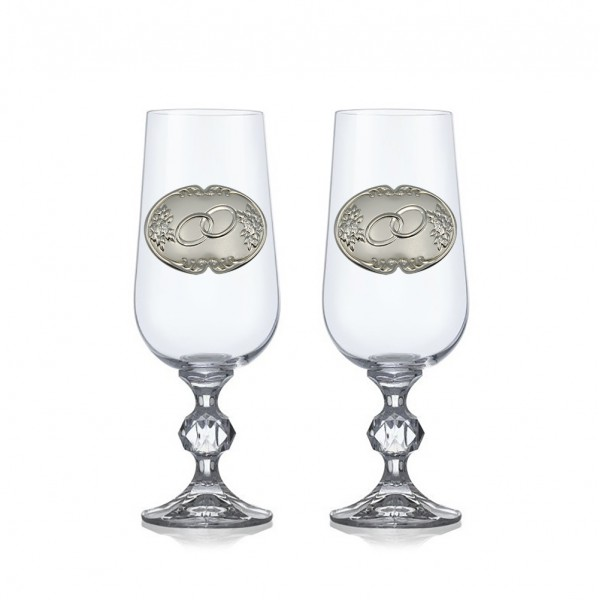 Бокалы для шампанского 4Claudia B552