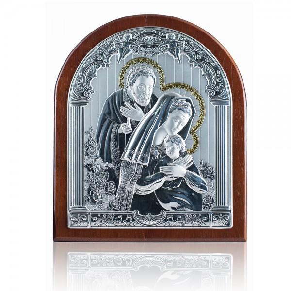 Икона Святое Семейство 4B402oro 20*25 см