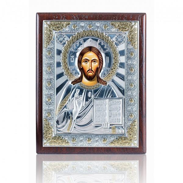 """Икона """"Иисус Христос Вседержитель"""" 4B1122oro 120*160"""