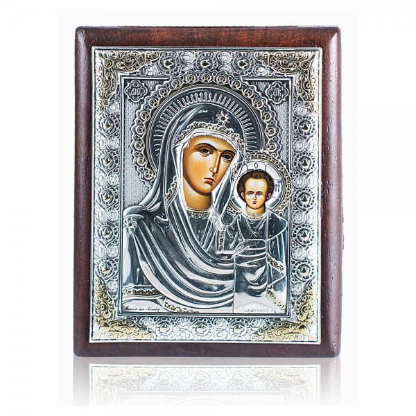 Икона Матерь Божья Казанская 4B1121oro 8*6 см
