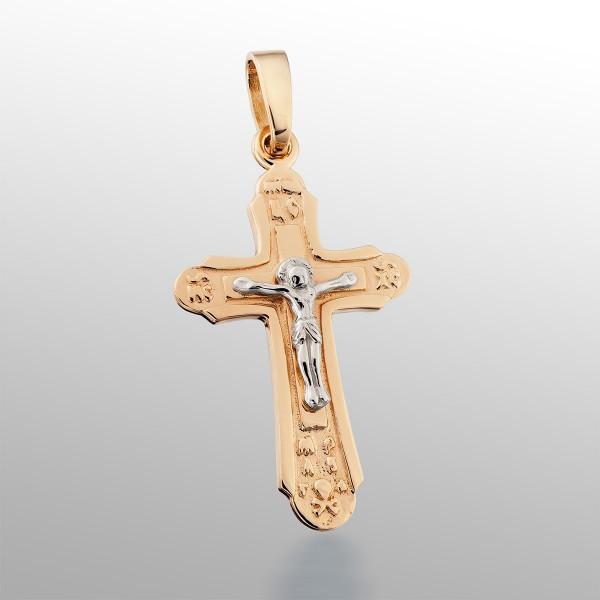 Крестик золотой 107-1059