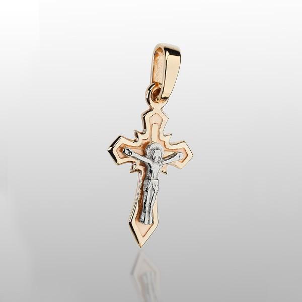 Крестик золотой 107-1061