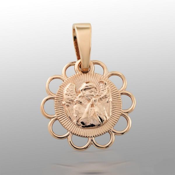 Ладанка золотая Ангел-Хранитель 107-1092