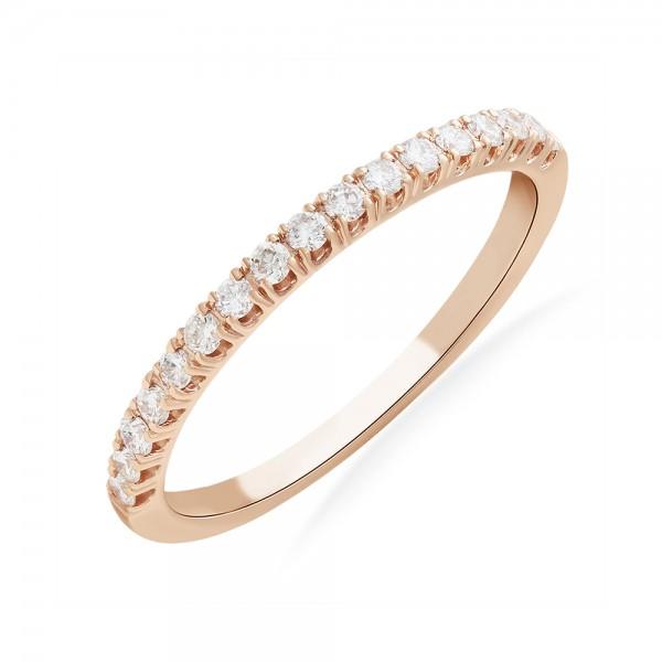 Кольцо золотое с бриллиантами и сапфиром 101-10044/2