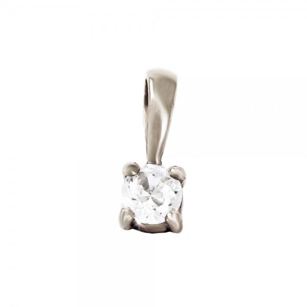 Подвеска золотая с бриллиантом 3П021дб