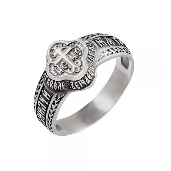 Кольцо серебряное 2К029