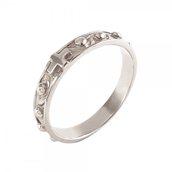Кольцо серебряное Розарий 2К031