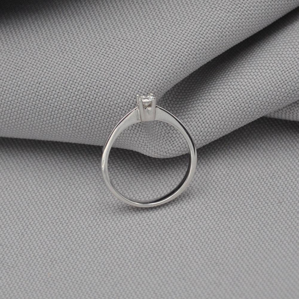 Кольцо золотое с бриллиантом 3К014Дбр