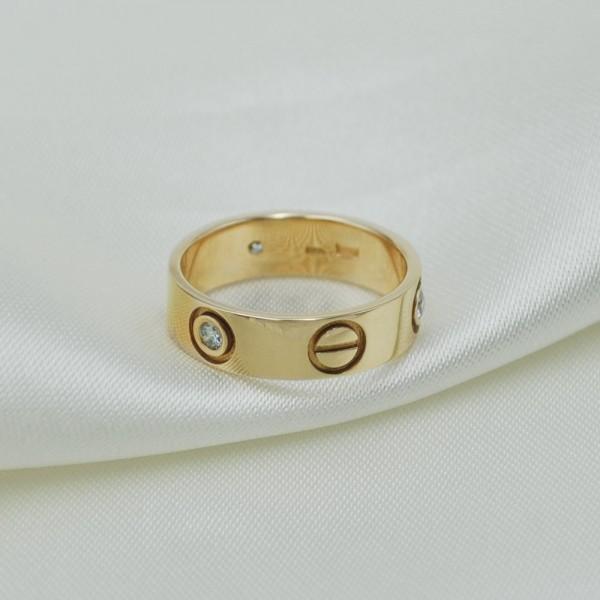 Кольцо золотое с бриллиантами 3К136Д