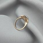 Кольцо золотое с бриллиантами 3_К 21.4